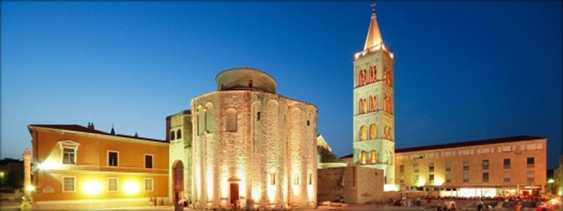 Church of St. Donatus zadar / Camping Peros Zaton